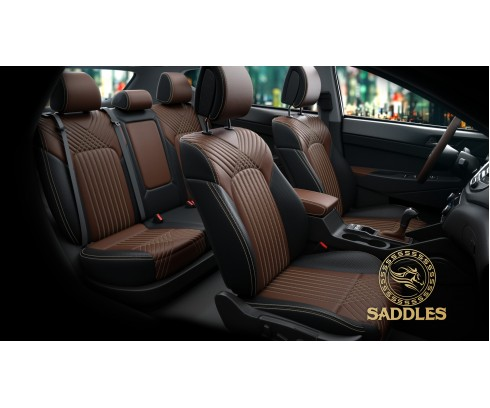 Buy Premium Artificial Leather Car Seat Covers Online In India