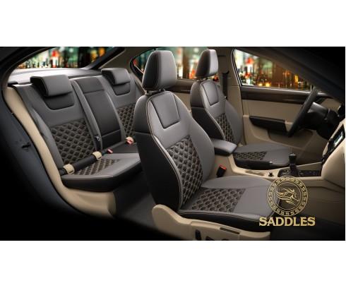 Buy Premium Genuine Leather Car Seat Covers Online In India